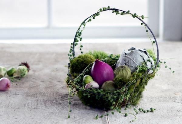 Easter basket crafts and even arrange-20 good ideas for Easter