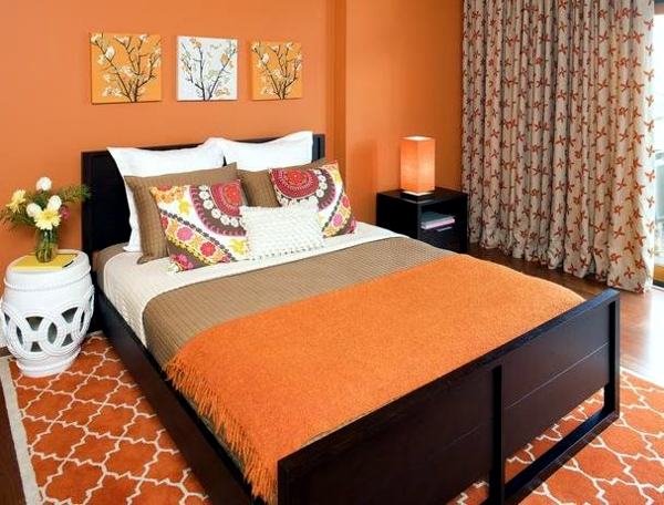 Chamber wall creative design fashion colors and decorating ideas