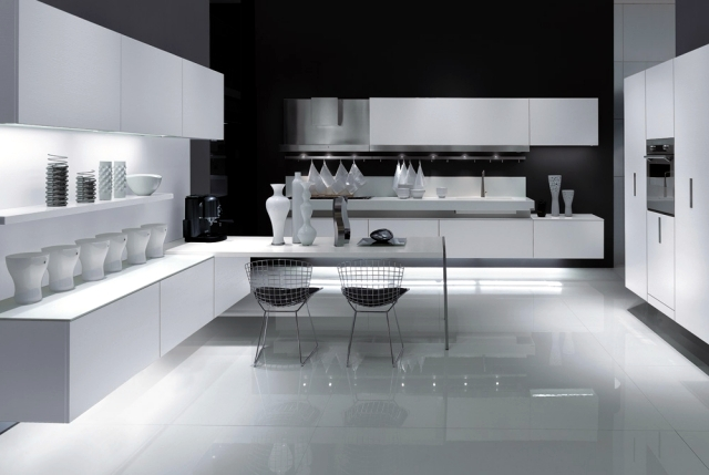 Modern kitchens Italy fascinated by the intelligence and sophistication