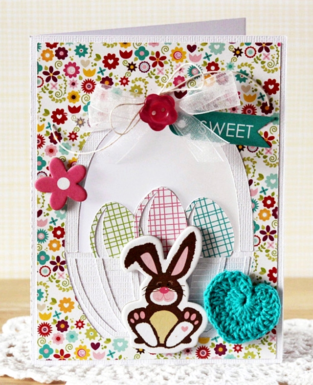 Easter craft ideas for kids easter candy cards to go interior for these craft ideas for easter you will need the following materials cardboard malunterlagen colored glue fabric easter eggs and easter bunny print negle Image collections