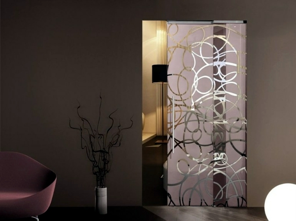 Compared interior doors sliding glass doors or room door for Interior decoration with glass
