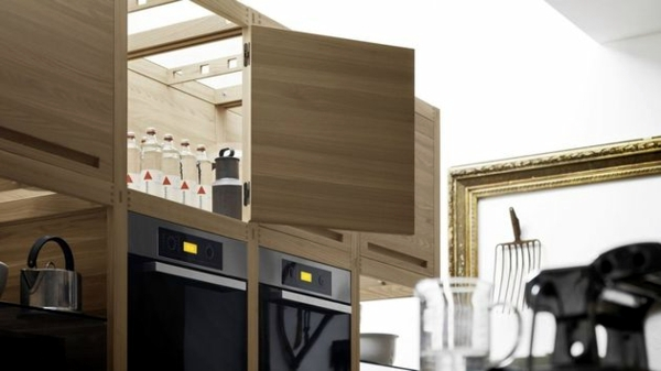 Wood kitchen design - comfort for the whole family!
