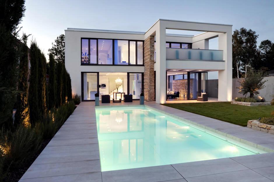 Modern Mediterranean Style Villa Interior Design Ideas