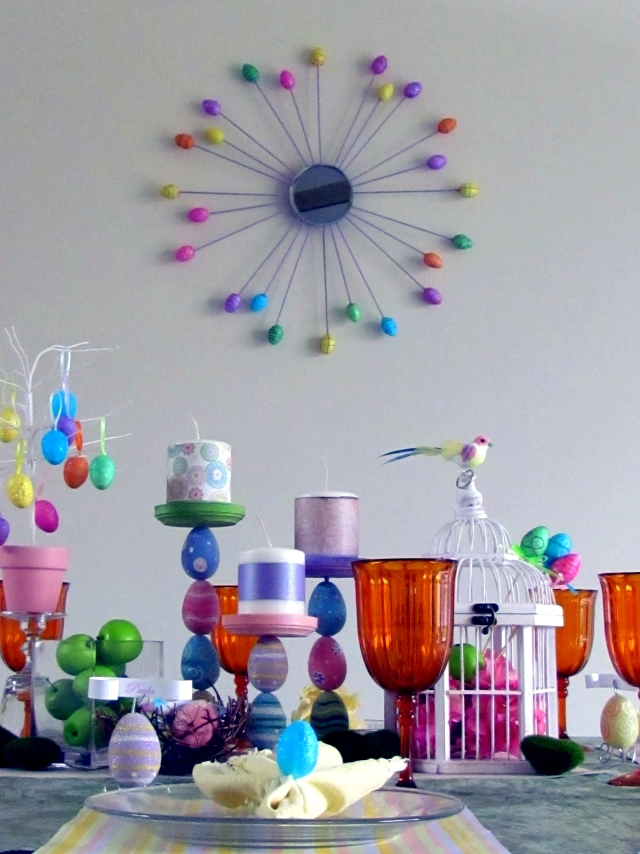 Ideas For Easter 18 Decorations You Can Make Yourself