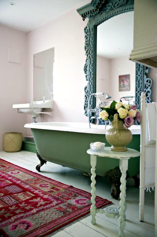 shabby chic badezimmer ein badezimmer im shabby schick landhaus stil vereint den badezimmer. Black Bedroom Furniture Sets. Home Design Ideas