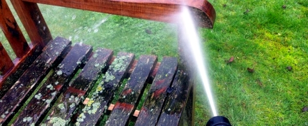 cleaning tips and useful maintenance - teak garden furniture brush