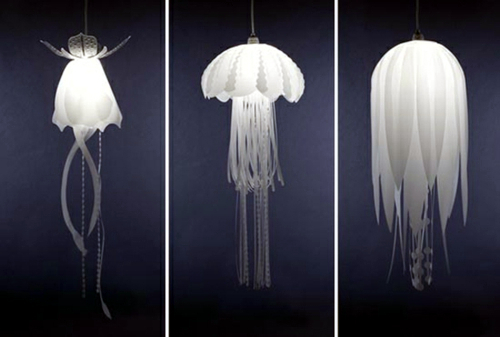 LED lamp as a diffused soft light jellyfish - jellyfish