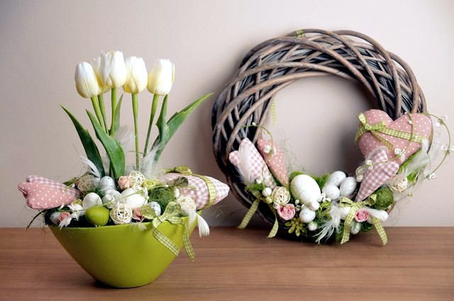 Easter decoration – 20 original ideas for small apartment | Interior Design Ideas - Ofdesign