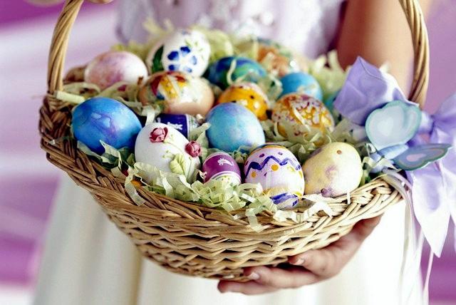 Easter decoration - 20 original ideas for small apartment