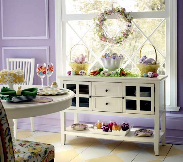 Easter decoration - 20 original ideas for small apartment