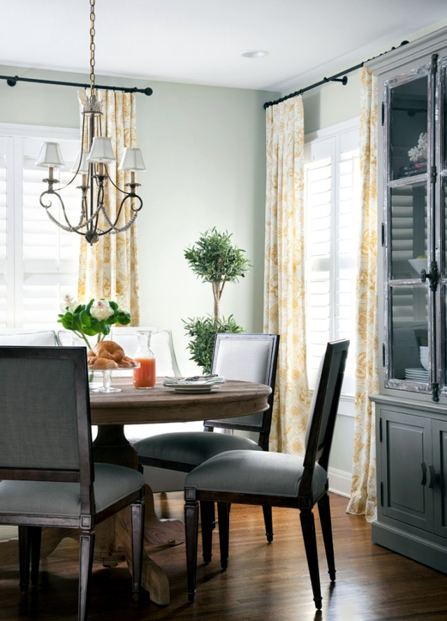 Protection window decoration, privacy and sun - 29 ideas for curtains