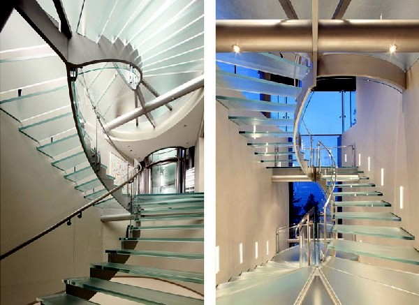 55 stairs designs that act as sculptures in space