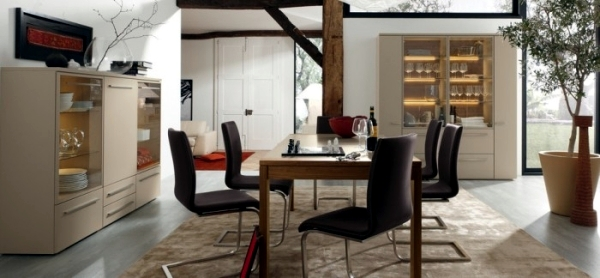 Invite modern design house - dining furniture Musterring