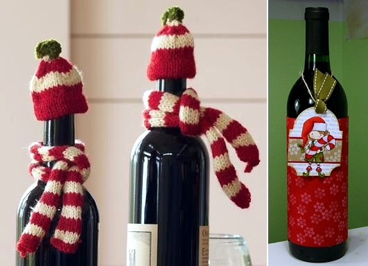 Wine Christmas Packaging.Creative Wine Bottles Packaging For Christmas A Great Gift