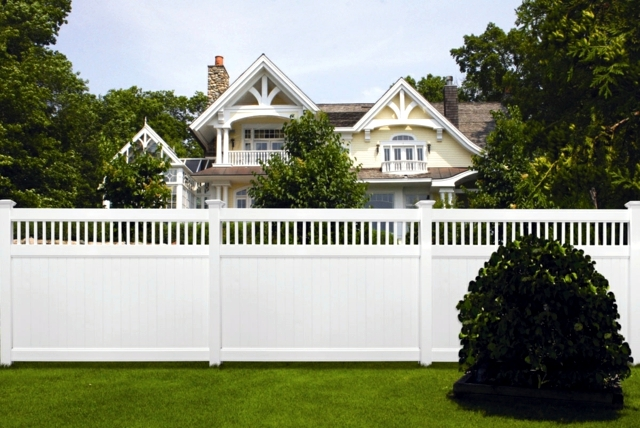 Is the control barrier made of plastic good alternative to wooden fence?