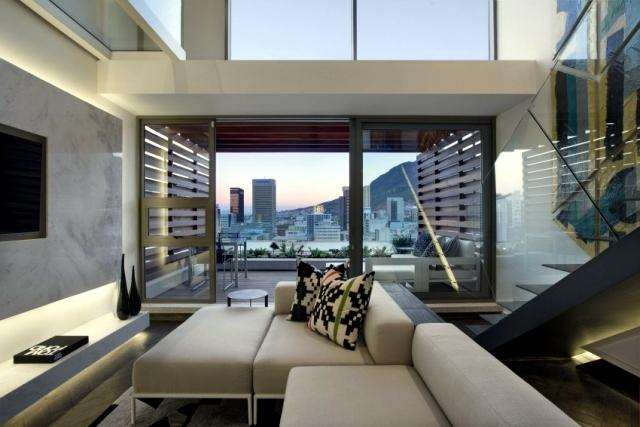 Modern duplex apartment SAOTA – comfort for discerning | Interior ...