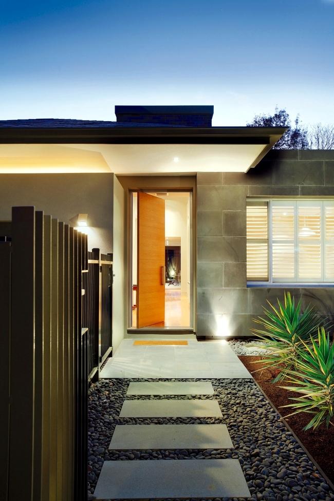 House for an open design - minimalist installation einmutende Canny