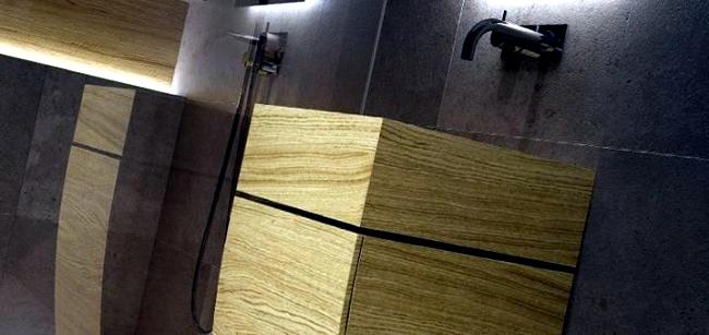Wood in the bathroom - toilet and bathroom design Unique Wood Design