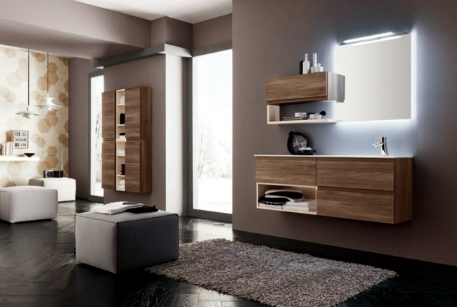Stylish bathroom design ideas - New trends for 2014