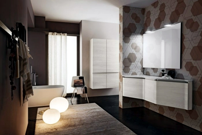 Stylish bathroom design ideas - New trends for 2014