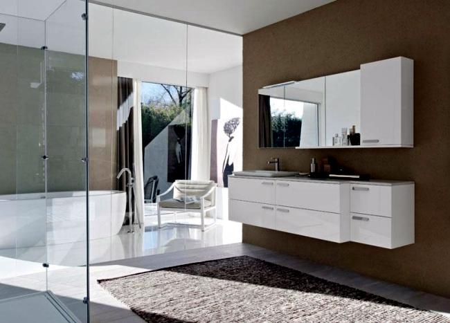 Ideas for bathroom design - minimalist and modern restrooms