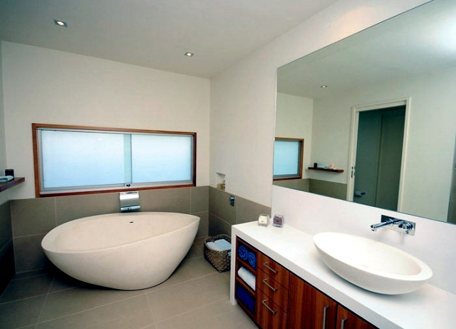 Independent lifestyle trend contemporary bathroom