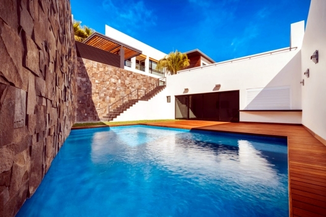 Private estate in Mexico with sophisticated architecture