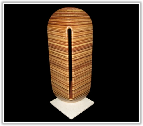 Abstract wooden WOW effect by David Engdahl