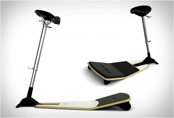 Ergonomic seat and an active permanent Stool