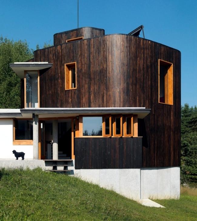 Home modern fisherman Simon Gill Architects Batak, Bulgaria