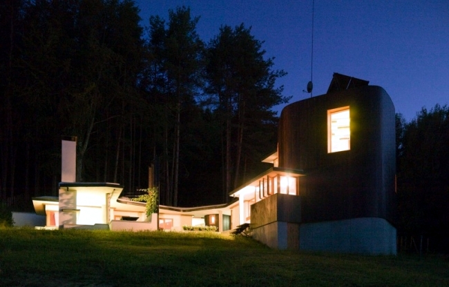 Home modern fisherman Simon Gill Architects Batak, Bulgaria