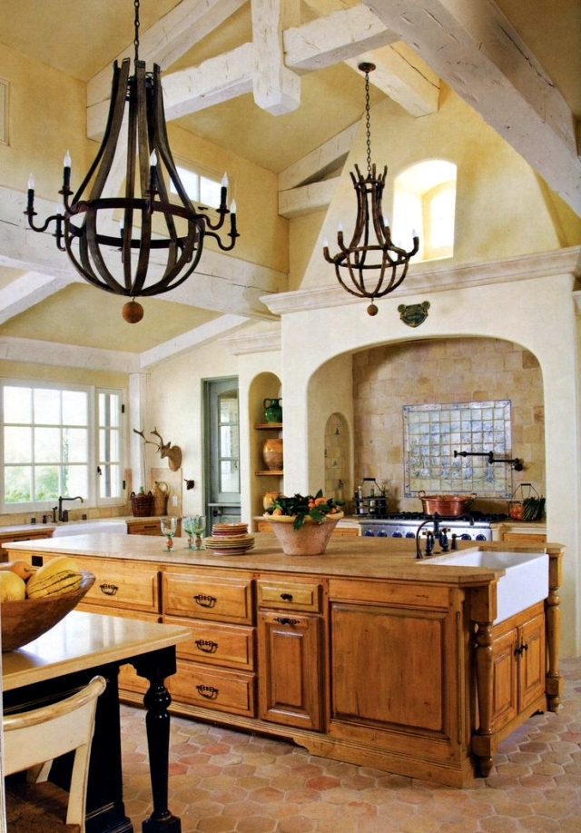 28 Cottage Kitchen in Tuscan style you want to cook