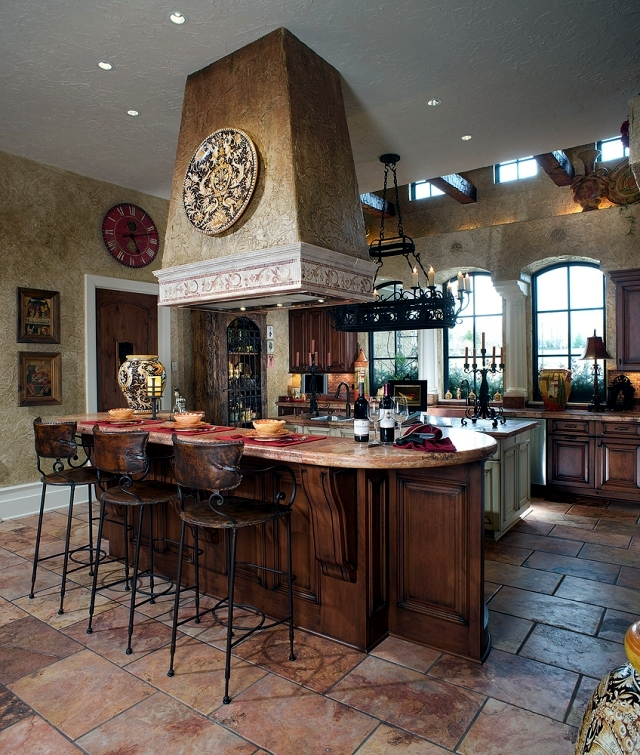 Mediterranean Style Kitchens: 28 Cottage Kitchen In Tuscan Style You Want To Cook