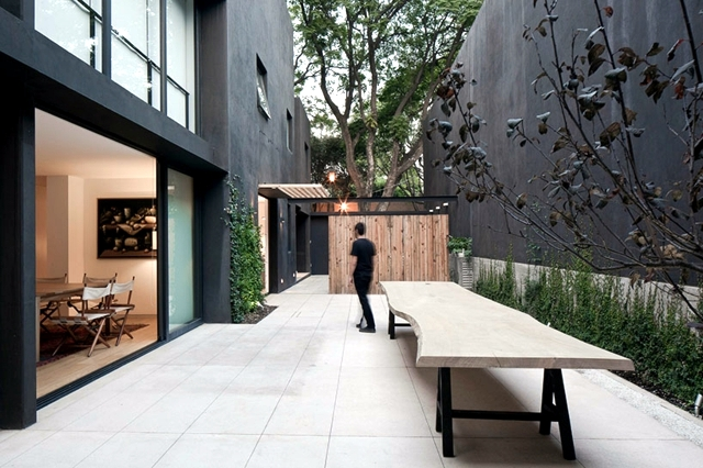 Fascinated By Modern Minimalist House Facade Interior