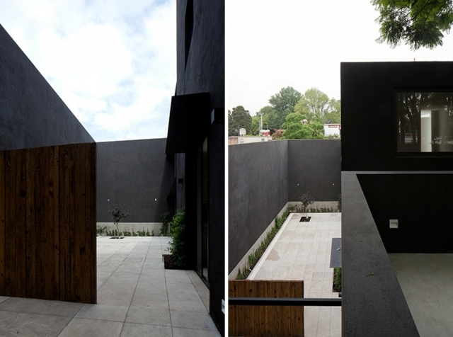 Fascinated by modern minimalist house facade