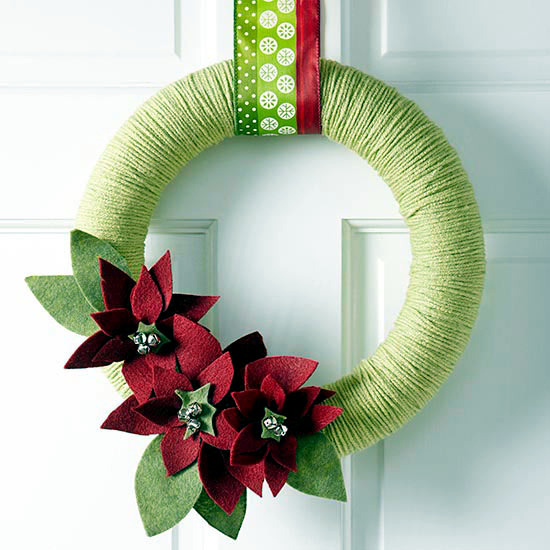 Ask The Same Door Wreath Christmas 18 DIY Creative Ideas