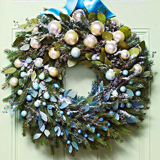 Ask the same door wreath Christmas – 18 DIY Creative Ideas ...