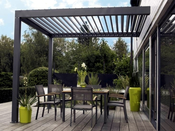 Covered terraces aluminum - Features and Benefits