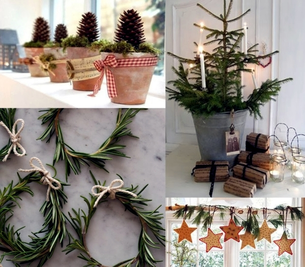 Christmas decorations to make your own 30 creative ideas for Gartendeko advent