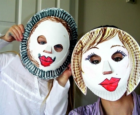 funny carnival masks craft for the carnival is fun interior