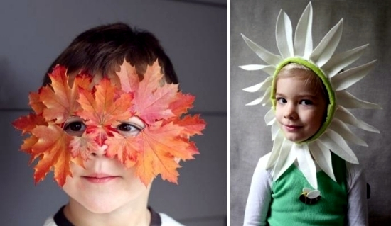 Funny carnival masks craft - for the carnival is fun