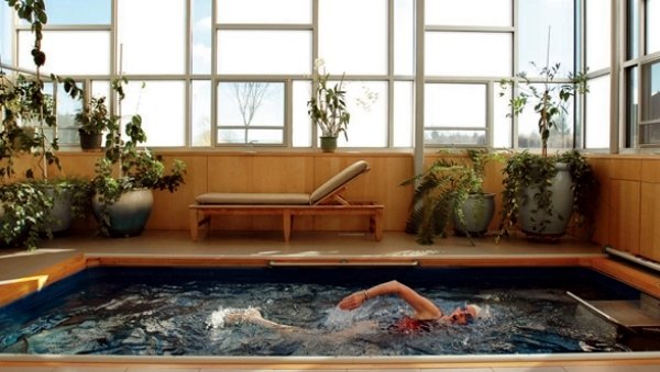 The endless pool - the ultimate water conditioner for your home fitness