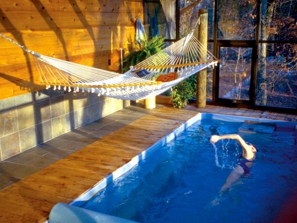 The endless pool the ultimate water conditioner for your for How much is an indoor swimming pool