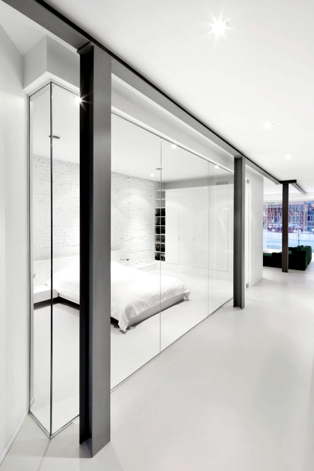 Open apartment on the ground floor - an idea uniquely designed for style and warmth
