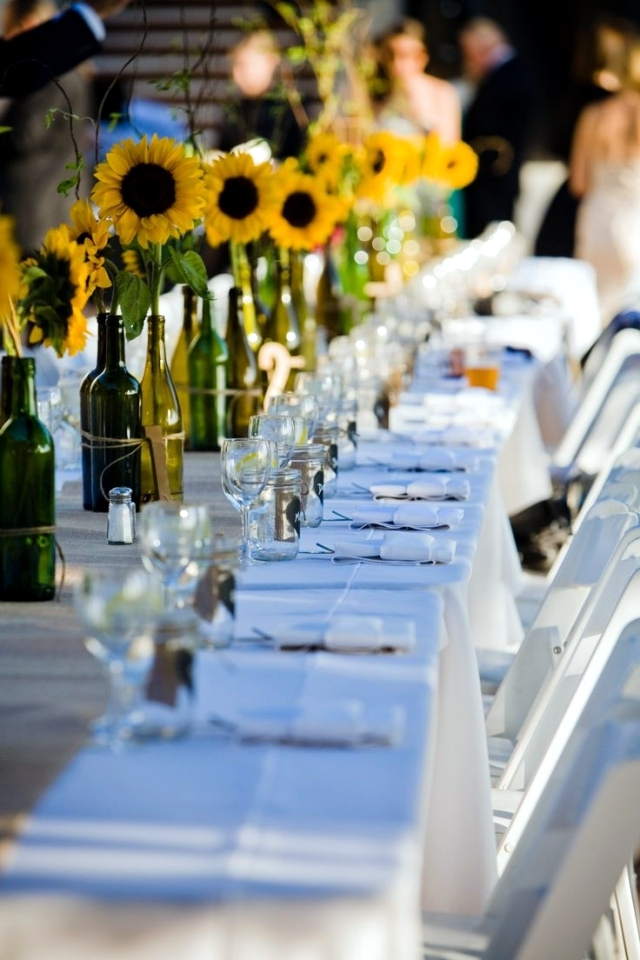 Table Decoration For Wedding 80 Ideas With Flowers And