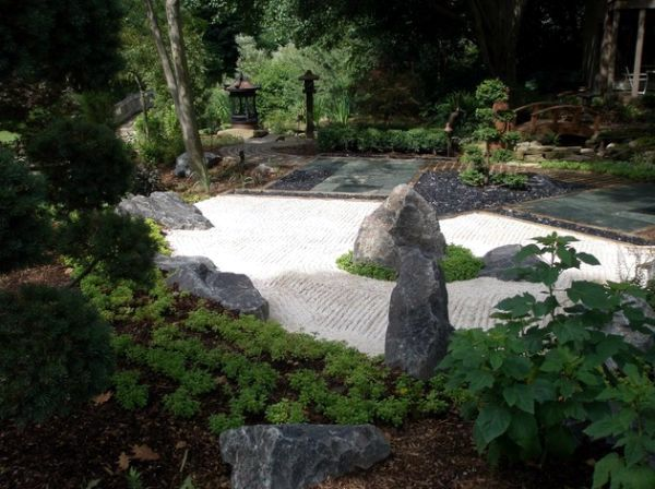 Garden Design - Japanese style done for aesthetic and natural