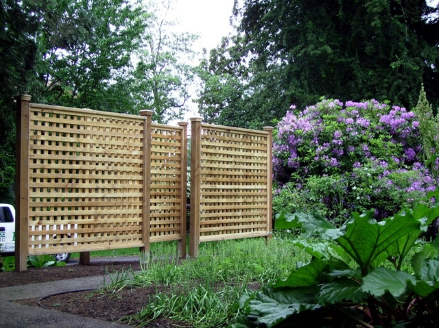 Privacy in the garden - if you keep prying eyes away