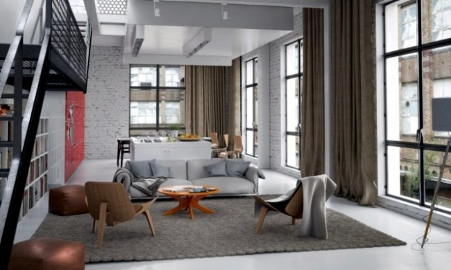 14 ideas for modern living room furniture, which relax the senses