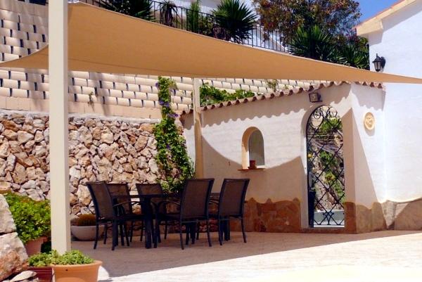 Benefits terrace shaded patio awning decorative
