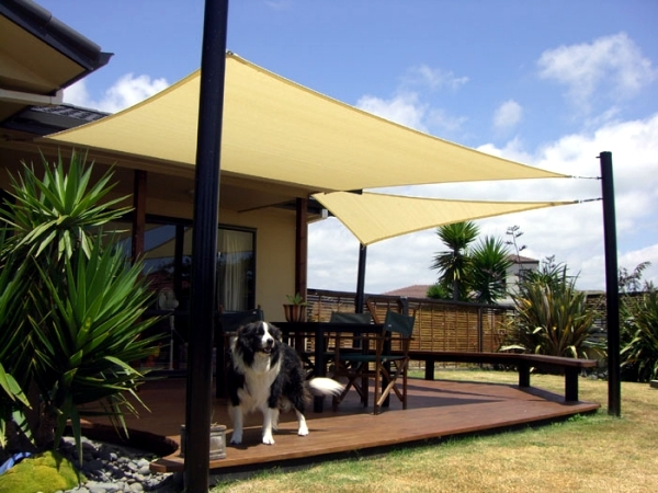 Benefits terrace shaded patio awning decorative